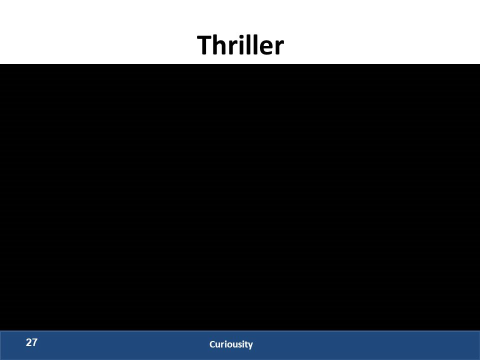 Thriller 27 Curiousity