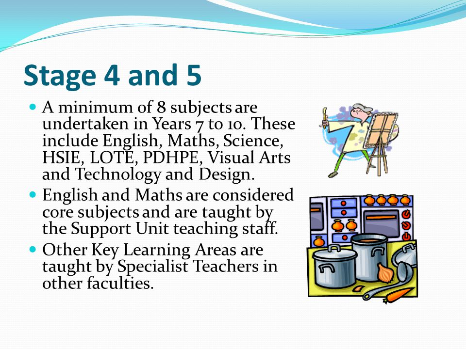 Course Outline The Life Skills curriculum is delivered in 3 stages.