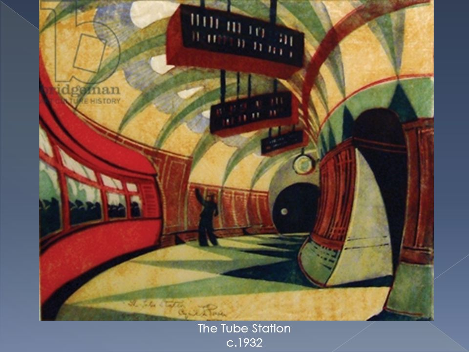 The Tube Station c.1932