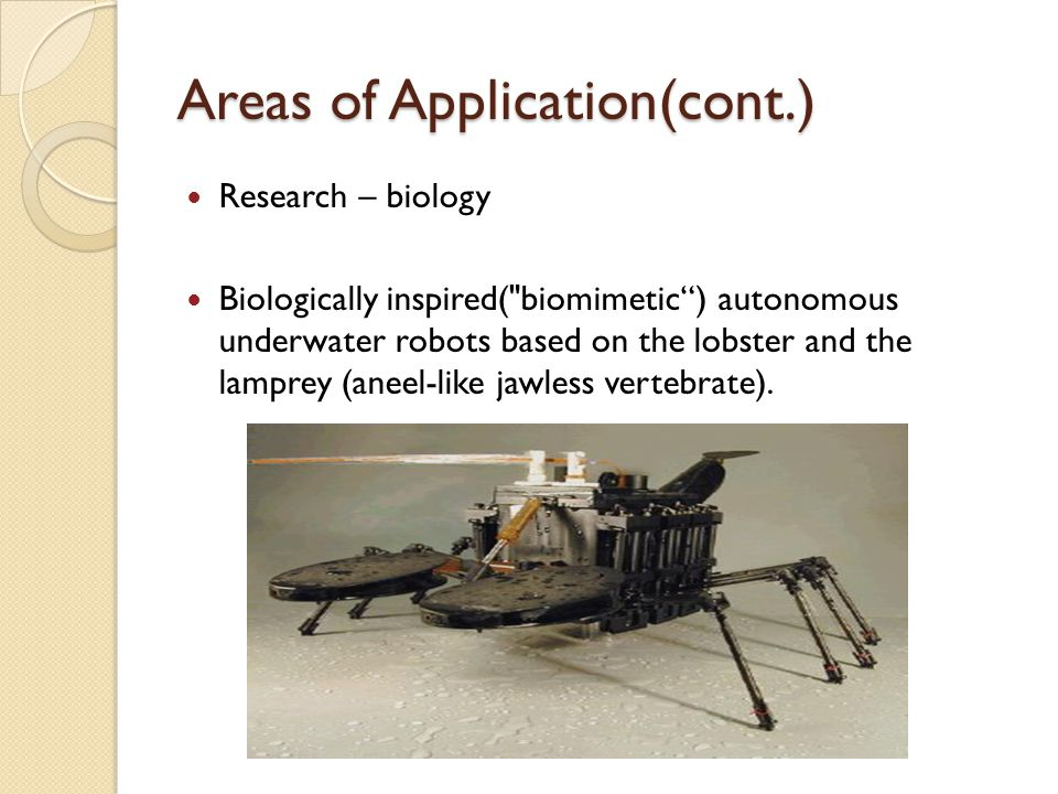 Research – biology Biologically inspired(