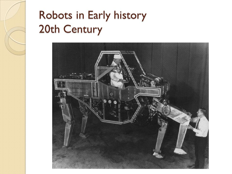 Robots in Early history 20th Century