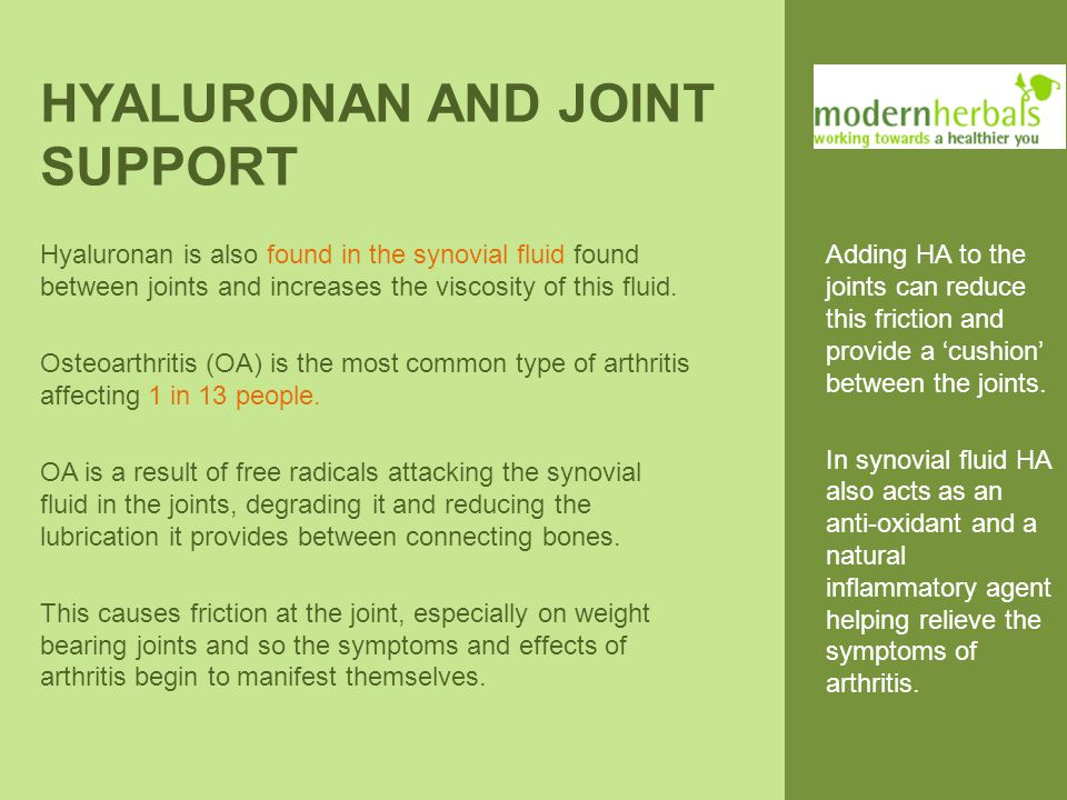 HYALURONAN AND WOUND HEALING HA production naturally increases during wound healing processes.