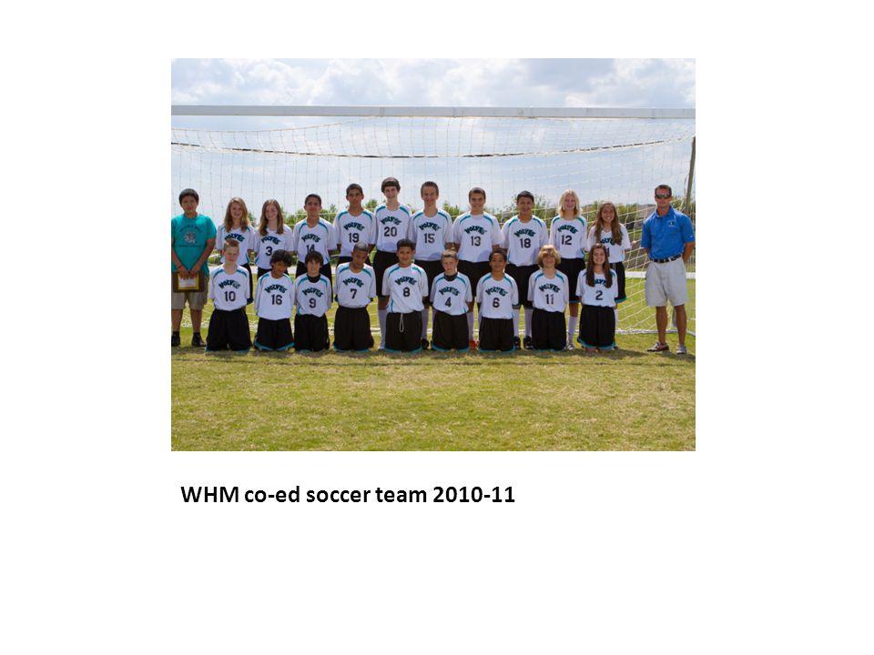 WHM co-ed soccer team 2010-11