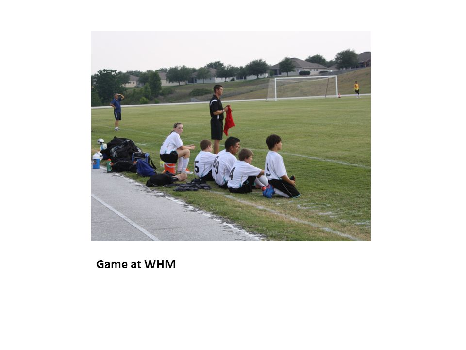 Game at WHM