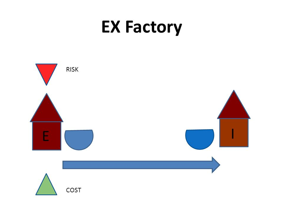 EX Factory RISK COST I E