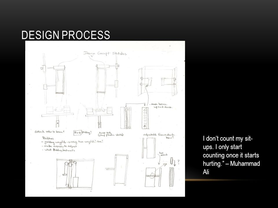 FRAME Rough drafting of the frame. I never take prisoners. Bill Anderson