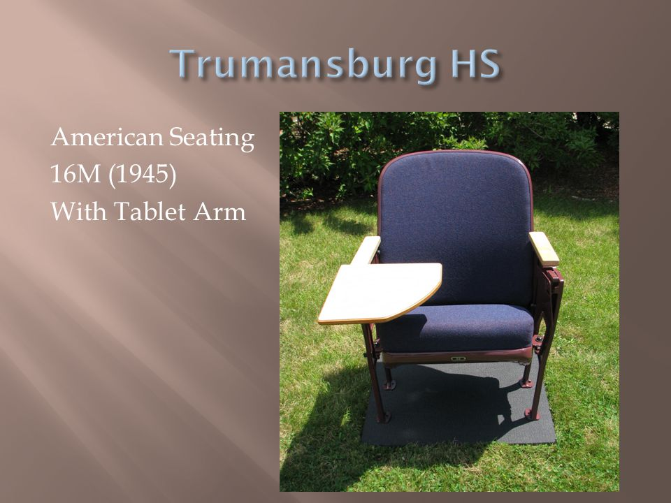 American Seating 16M (1945) With Tablet Arm