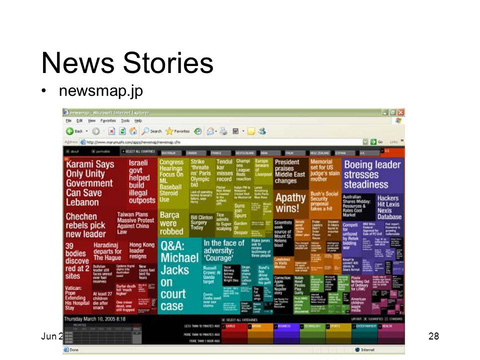 Jun 2, 2014 IAT 355 28 News Stories newsmap.jp