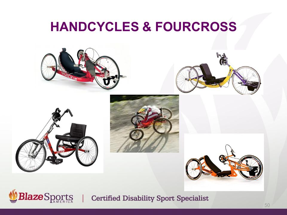HANDCYCLES & FOURCROSS 50