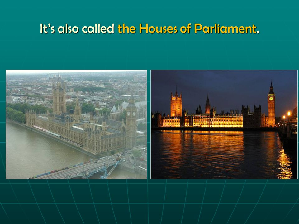 """The Topic: The Topic: """"Welcome to the Palace of Westminster"""""""