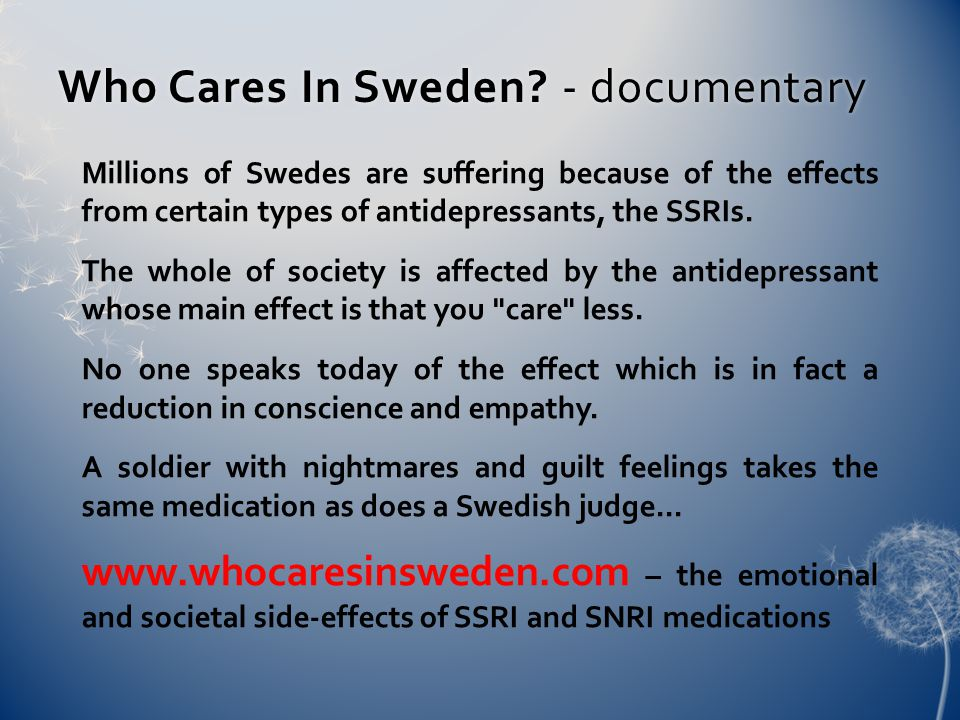 Who Cares In Sweden. - documentaryWho Cares In Sweden.