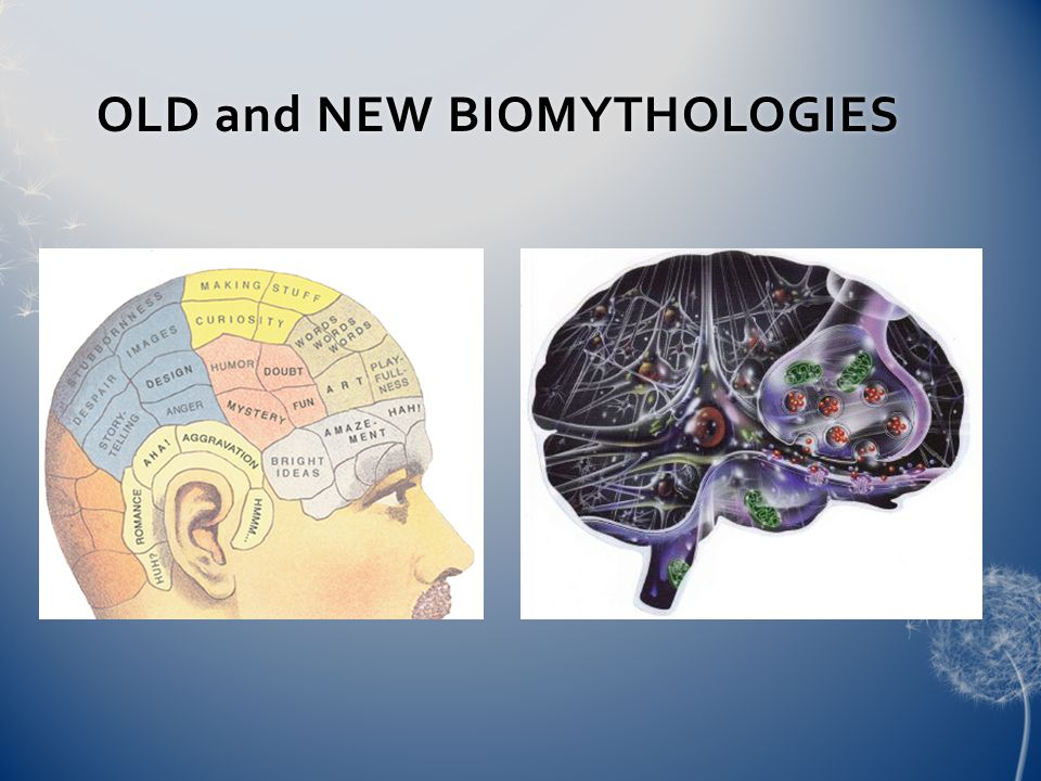 OLD and NEW BIOMYTHOLOGIESOLD and NEW BIOMYTHOLOGIES