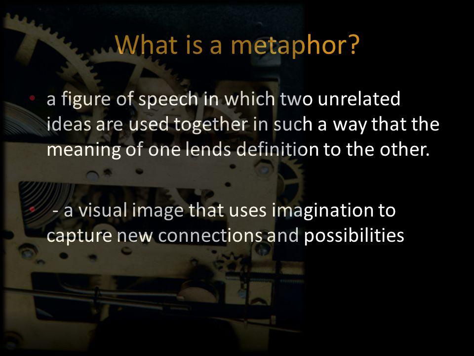 Metaphors (cont'd) Career Anchors Fire.