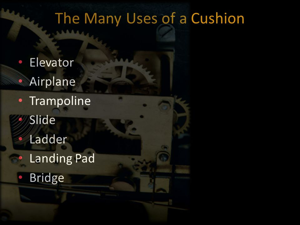 The Many Uses of a Cushion Elevator Airplane Trampoline Slide Ladder Landing Pad Bridge