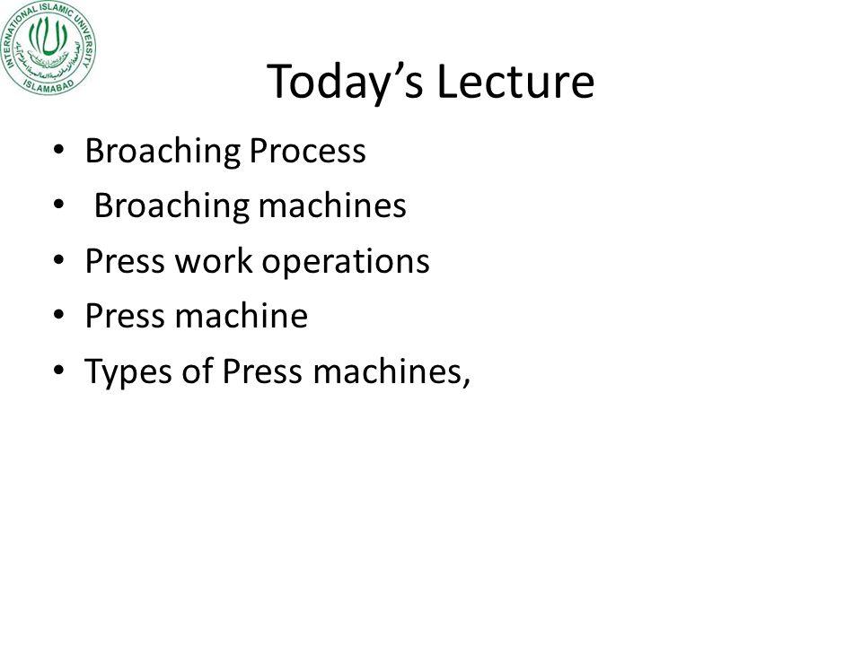Hydraulic press Hydraulic press has longer ram stroke than mechanical presses.