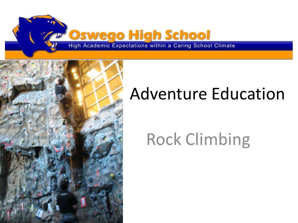 Adventure Education Rock Climbing