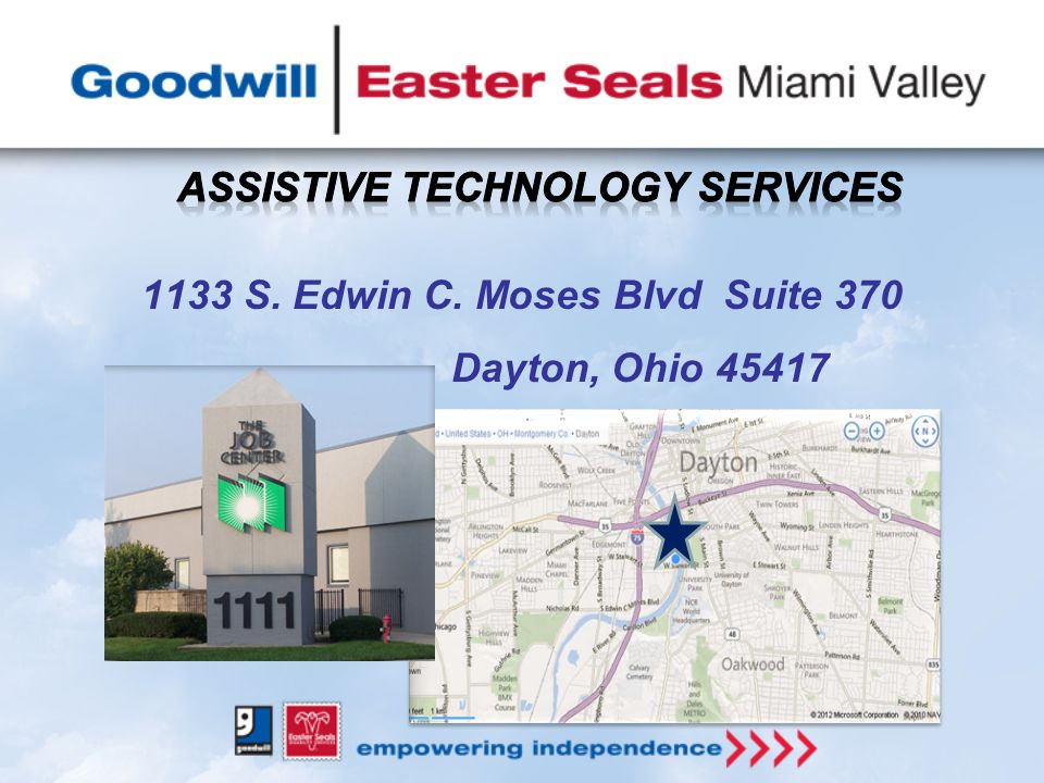 1133 S. Edwin C. Moses Blvd Suite 370 Dayton, Ohio 45417