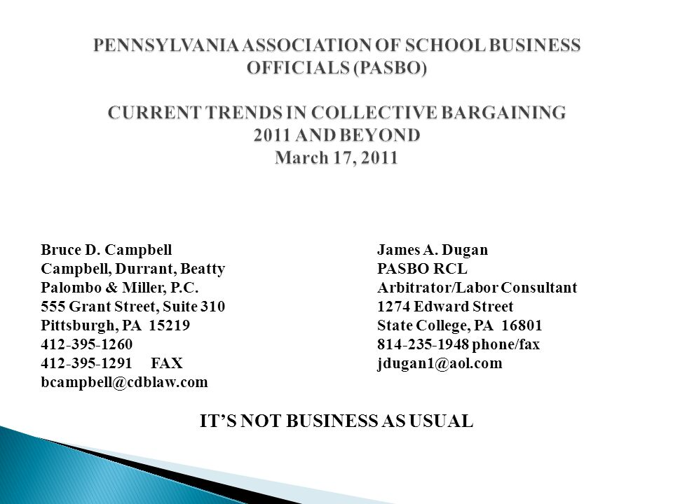 Pennsylvania school districts have not experienced the negative effects of the poor economy, beginning in 2008.