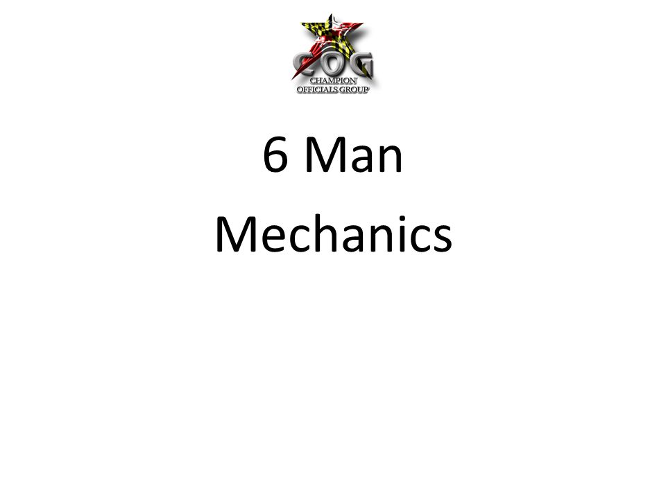 For all 6 Man Games, we will follow the MPSSAA Manual with a few minor exceptions.