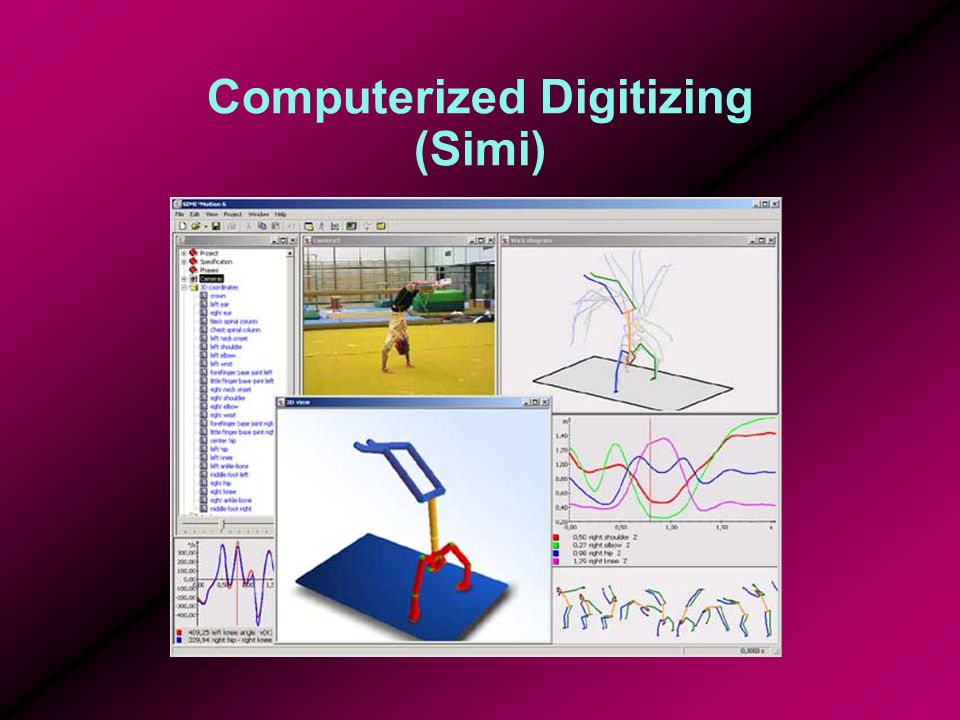 Computerized Digitizing (Simi)