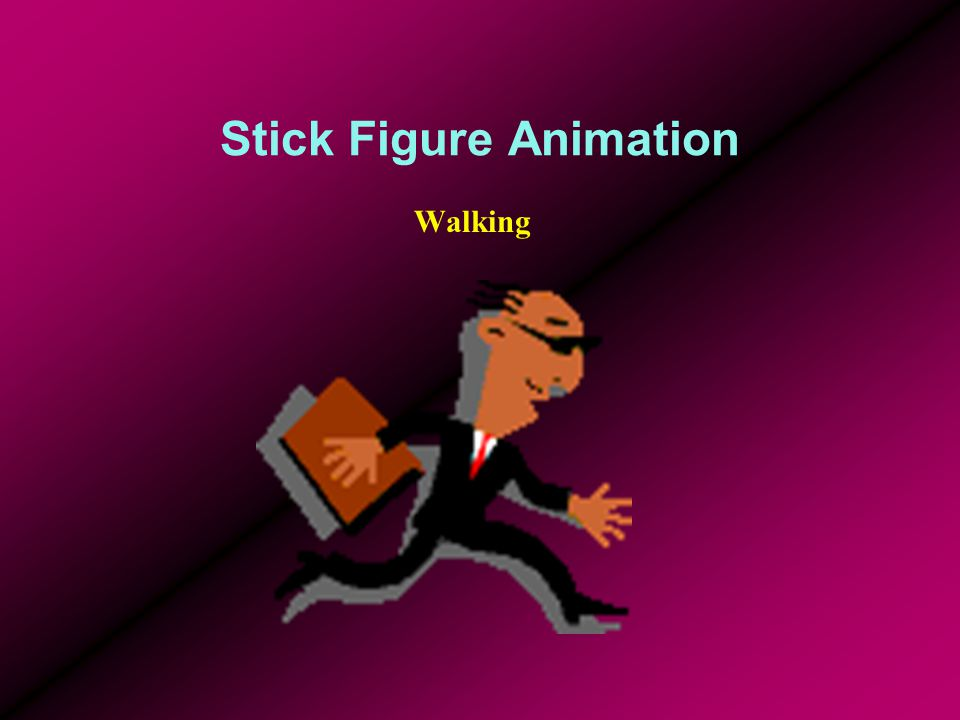Stick Figure Animation Walking