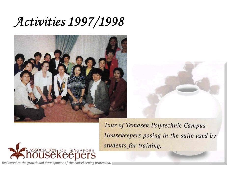 Activities 1997/1998
