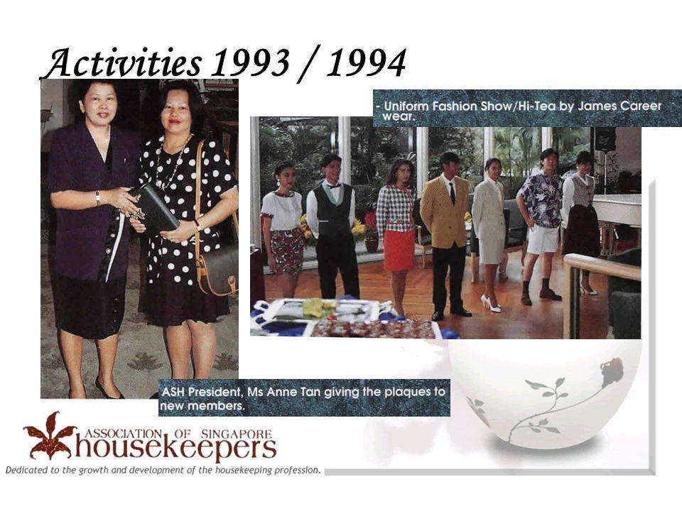 Activities 1993 / 1994