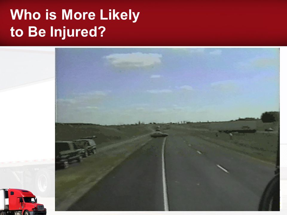 Who is More Likely to Be Injured?
