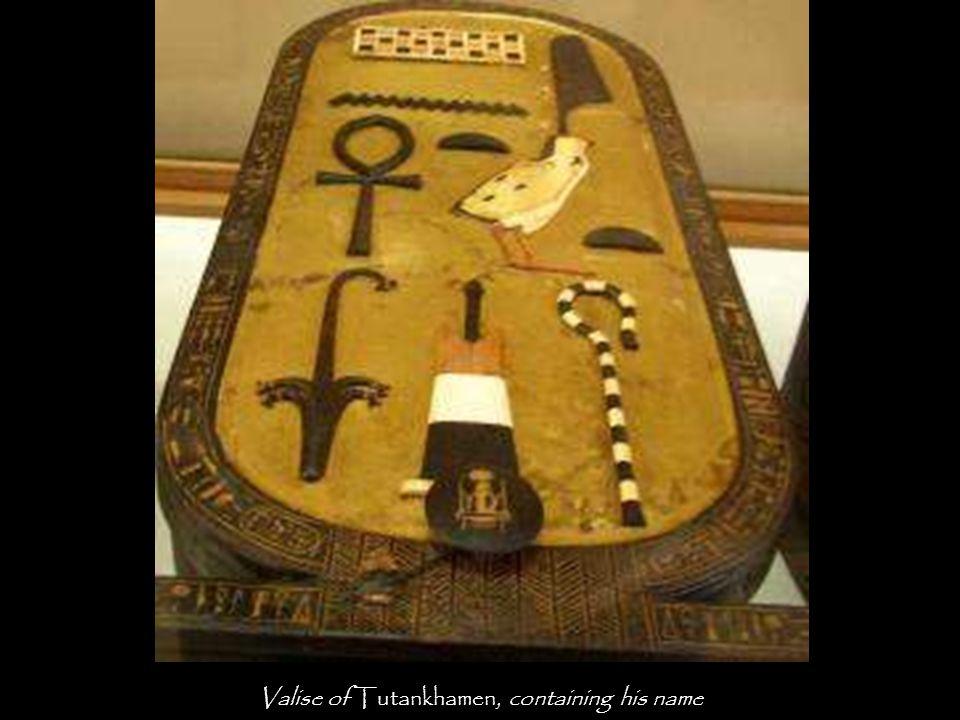 Statuette of the Ka – spiritual double – of Tutankhamen