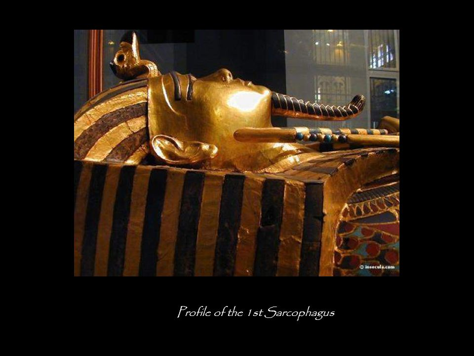 Valise of Tutankhamen, containing his name