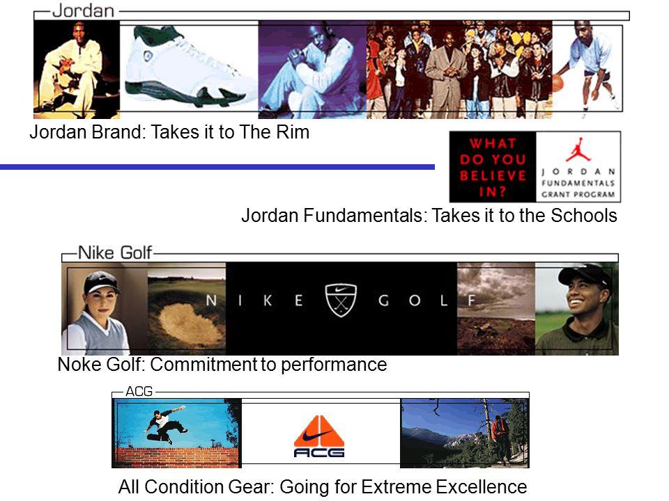 V. Brand News Jordan Brand nike Golf A.C.G.