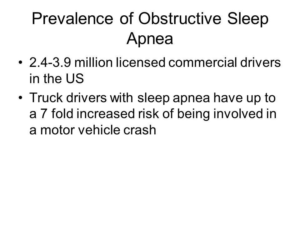 Sleep Apnea Screening Problems Talmadge et al.