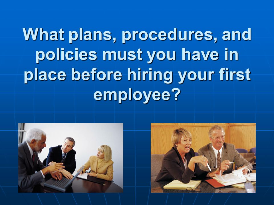 Essential Question 3B  What is your business' hiring and training process?