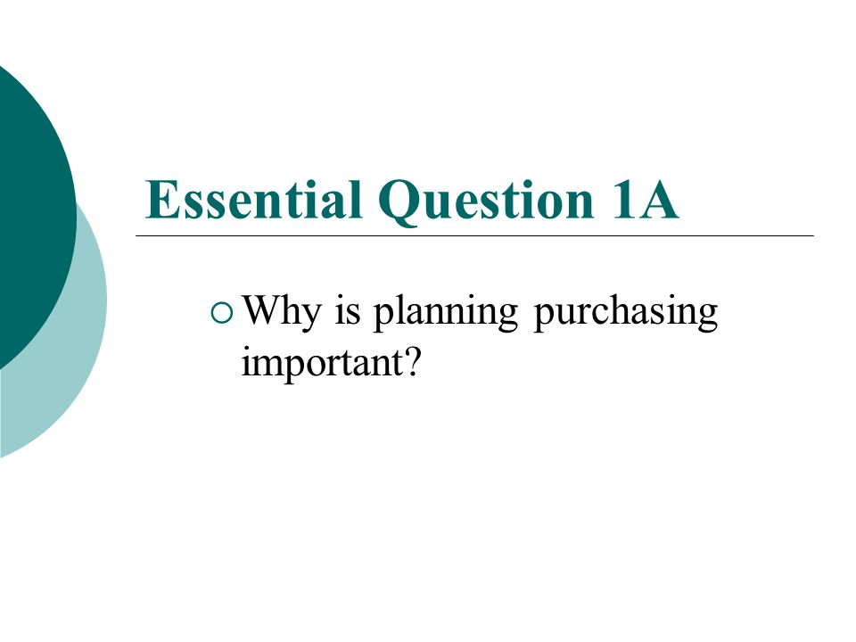 Unit 6 Essential Question 1  How are the day to day operations of production, purchasing, inventory, distribution, operations, and personnel conducted