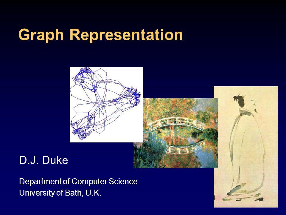 Graph Representation D.J. Duke Department of Computer Science University of Bath, U.K.