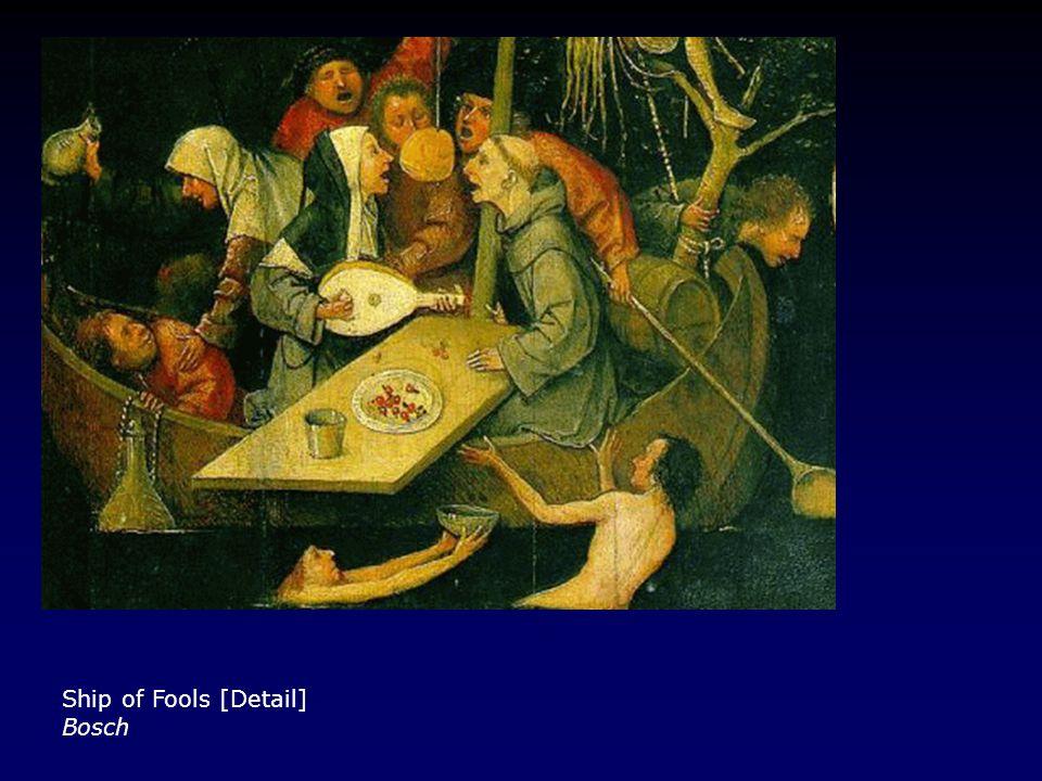 Ship of Fools [Detail] Bosch