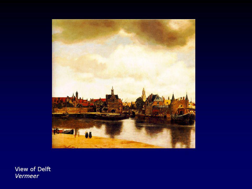 View of Delft Vermeer