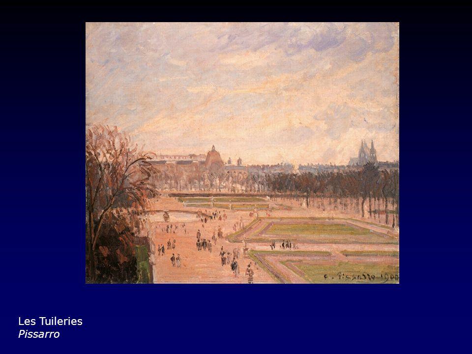 Les Tuileries Pissarro