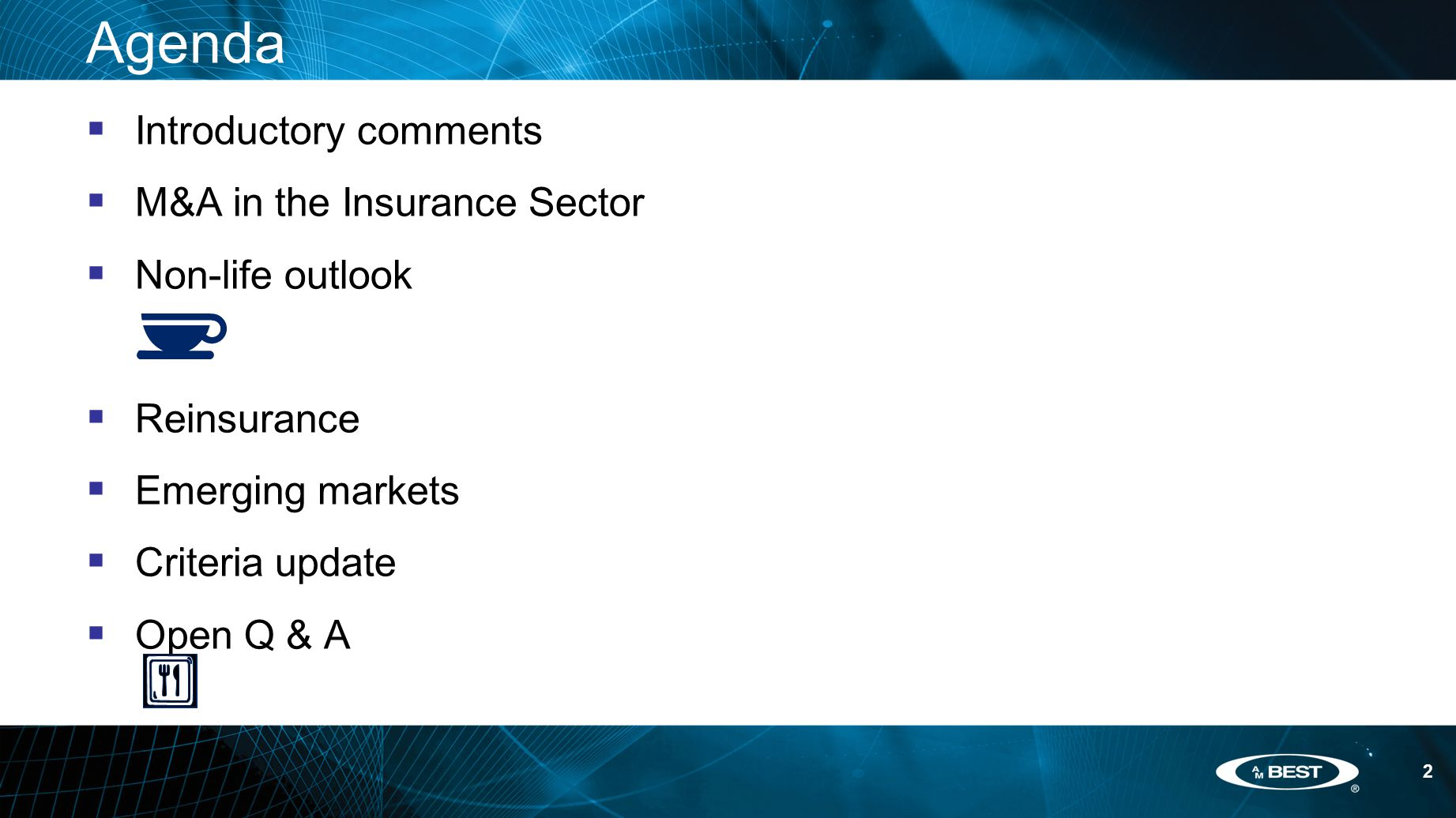 83 KEY FACTOR IN ANALYSIS DUE TO SUDDEN SHOCK TO BALANCE SHEET Catastrophe risk management REQUIREMENTS  PMLs reflect most recent information available  Credible assessment of catastrophe risk based on worldwide exposures  No requirement to use a specific model or multiple models  Options selected for demand surge, storm surge, fire following earthquakes, Atlantic Multi-Decadal Oscillation and secondary uncertainty DISCUSSIONS WITH MANAGEMENT  Materiality of change relative to capital requirements  Overall approach to risk management  Management's view of model changes relative to book of business  Planned actions to mitigate exposure