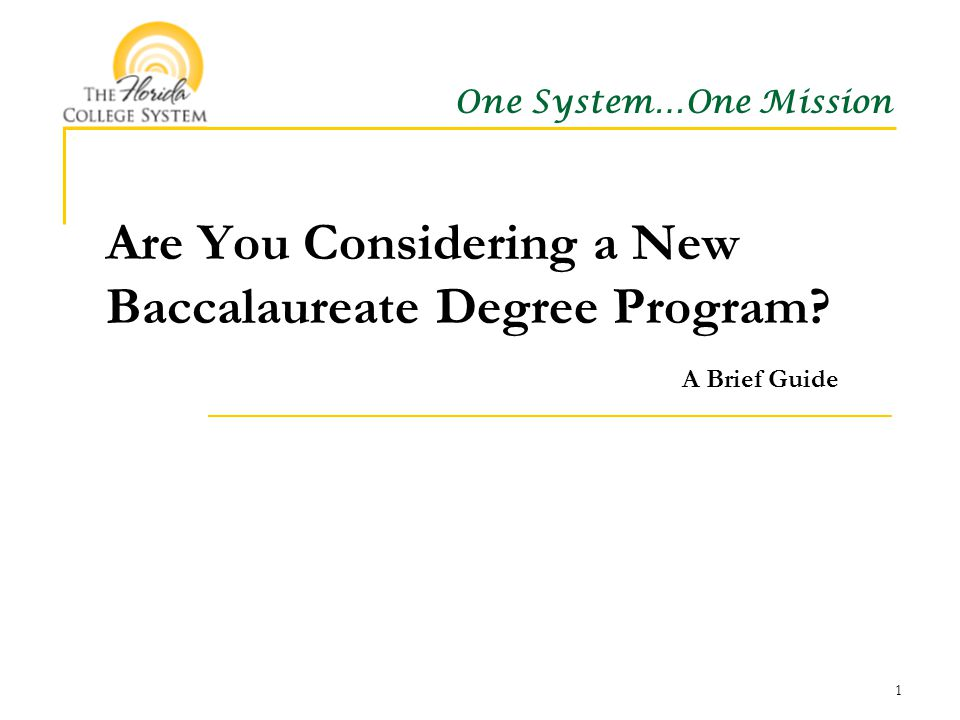 Preparing to propose a new baccalaureate degree: The basics Baccalaureate approval process overview What you need to know What you need to do 2