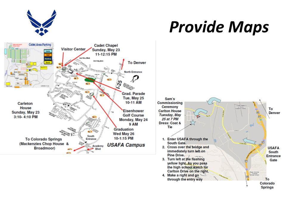 Provide Maps