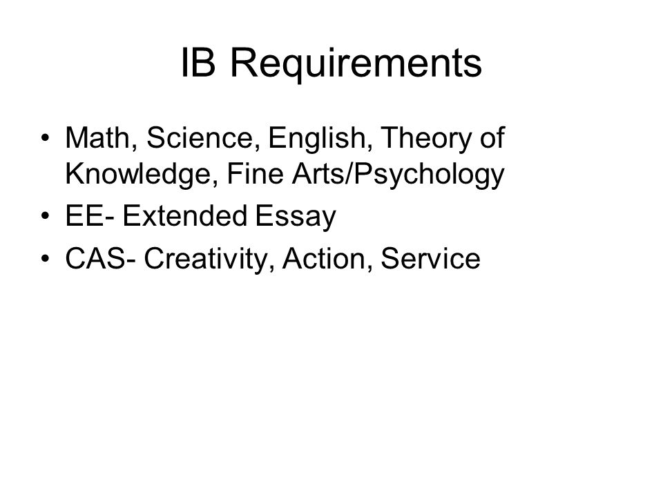 The Core of the IB Programme Theory of Knowledge Theory of Knowledge ...