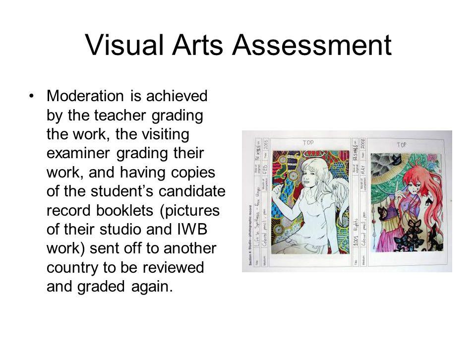 Visual Arts Assessment Option A: Studio Work 60% Investigative Workbooks 40% Option B: Investigative Workbooks 60% Studio Work 40%