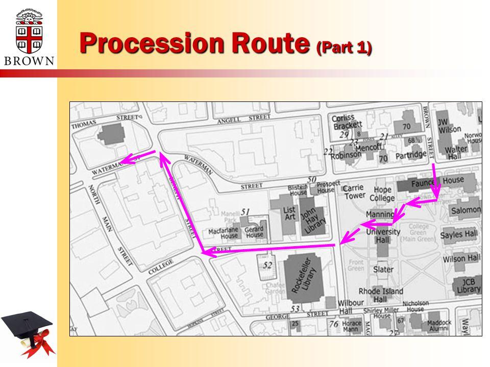 Procession Route (Part 1)