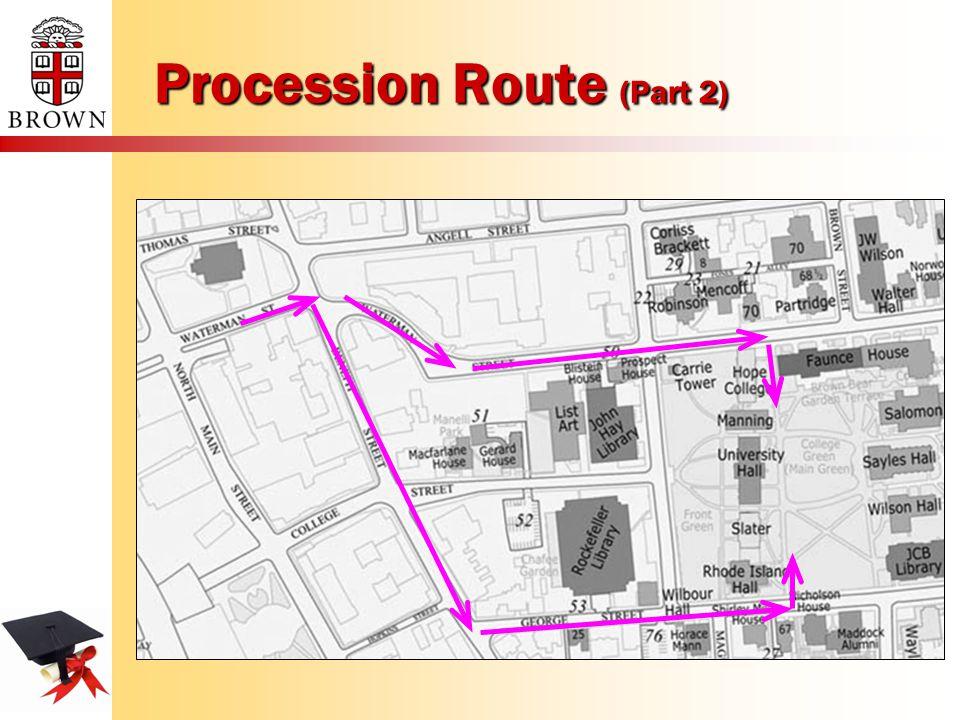 Procession Route (Part 2)