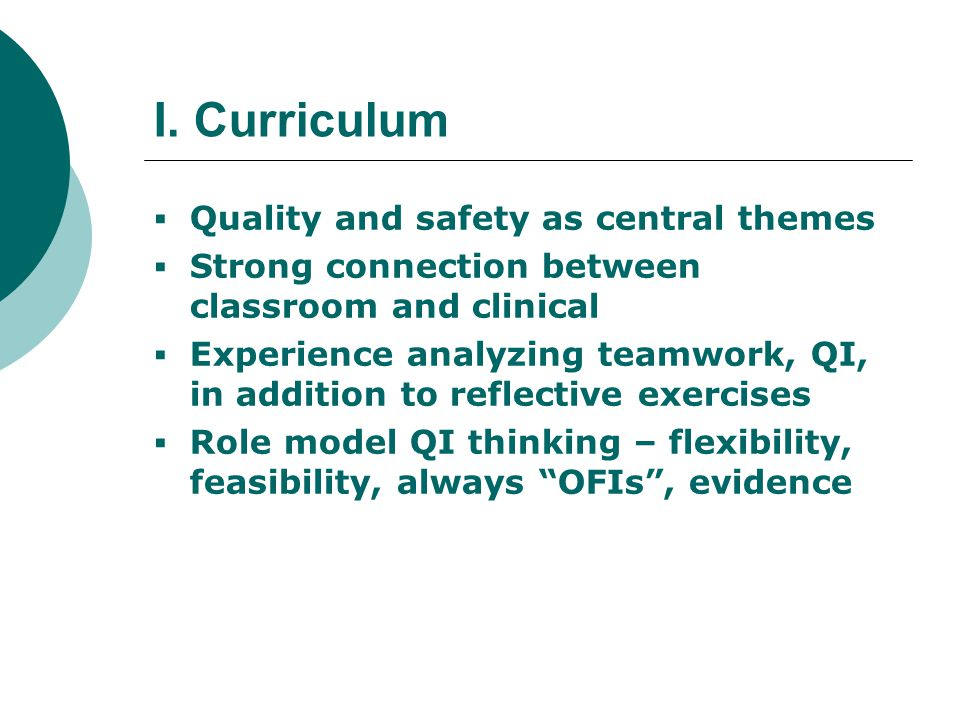 An Integrated Curriculum Nursing Practice Patient-Centered Care Across the Care Continuum (Clinical Experiences) Classroom Professional Development Classroom & Clinical Seminars Simulations