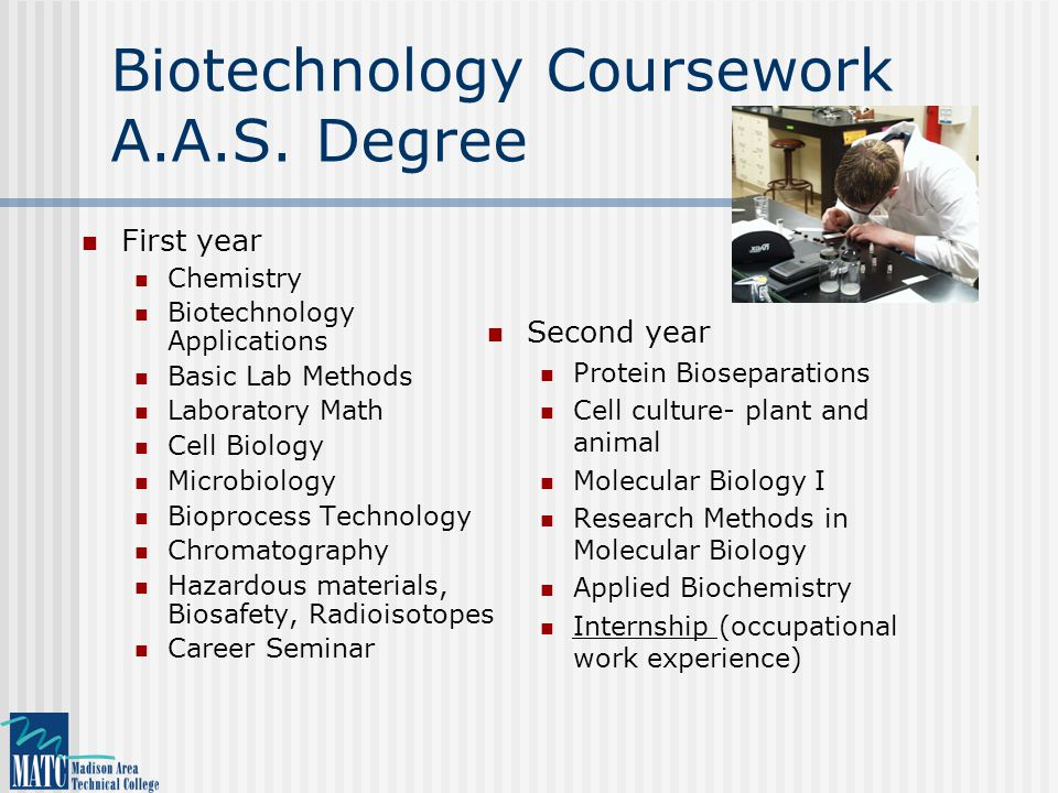 Biotechnology Coursework A.A.S.