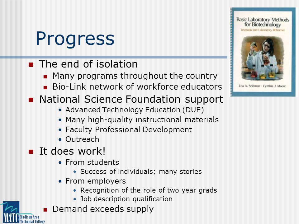 Bio-Link: www.bio-link.org National Center for Biotechnology Workforce Education
