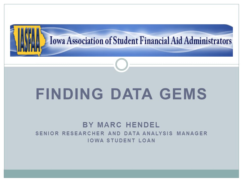 Integrated Postsecondary Education Data System (IPEDS) Use it to rank a group of institutions on a single variable