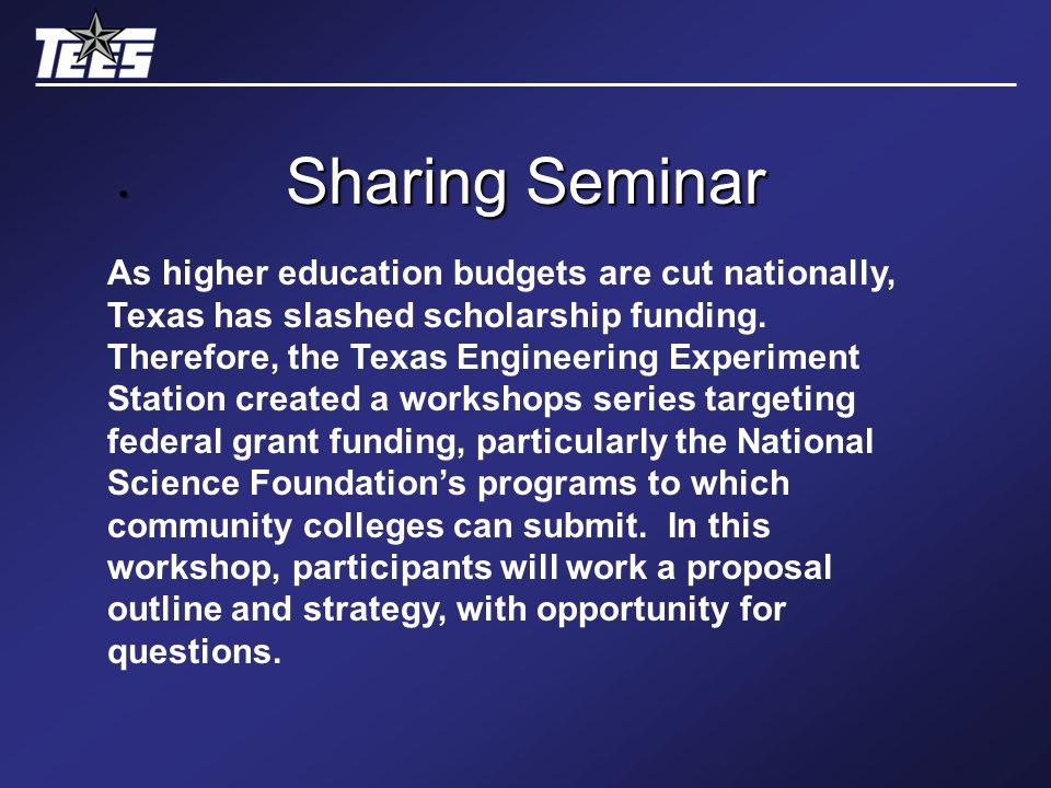 Sharing Seminar.